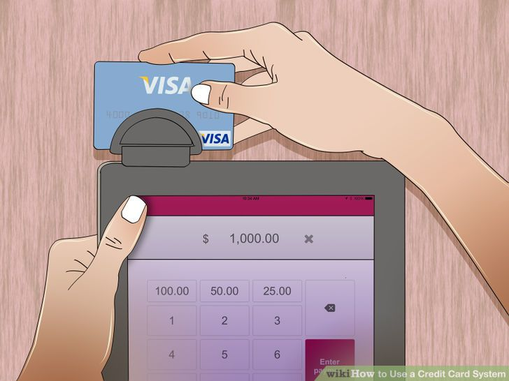 Set up a mobile credit card processing system.